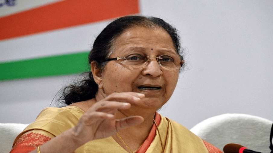 former lok sabha speaker sumitra mahajan । File Photo- India TV Hindi