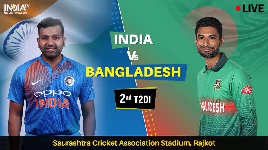 India vs Bangladesh Live Streaming 2nd T20- India TV Hindi