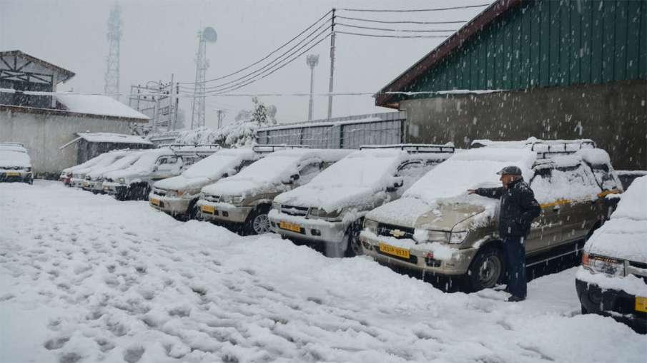 Jammu Kashmir Snow Fall- India TV Hindi