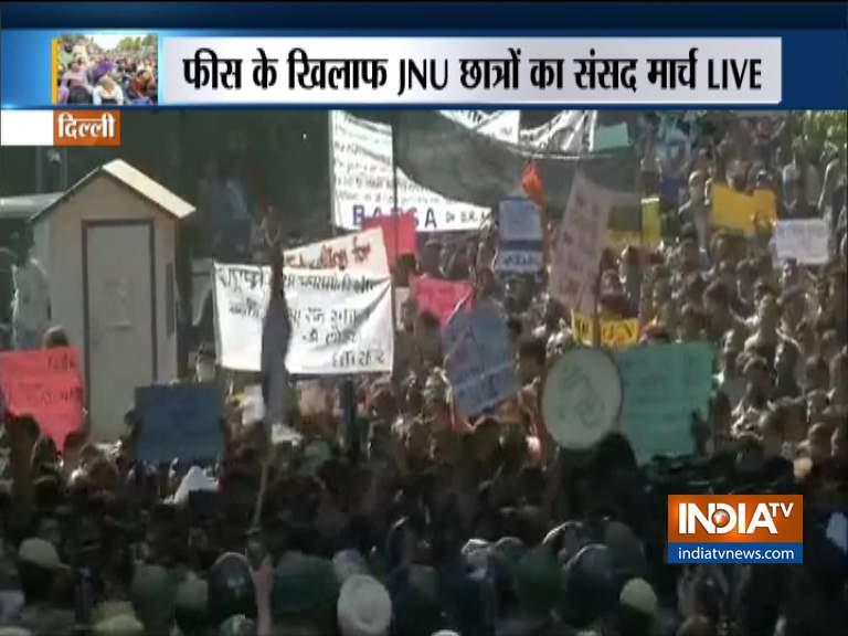 JNU SU- India TV Hindi