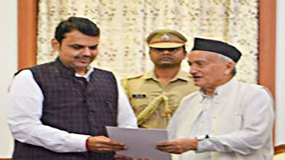 Maharashtra Governor invited BJP  to form government- India TV Hindi