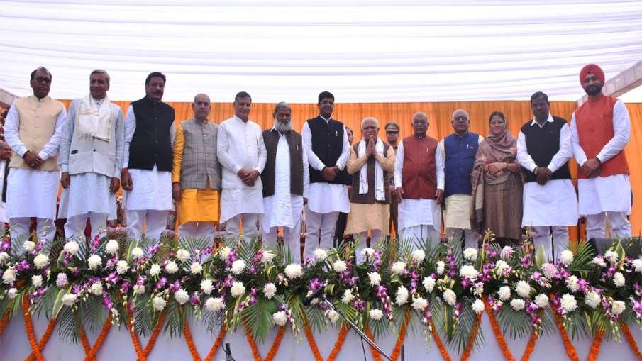 New Haryana Cabinet- India TV Hindi