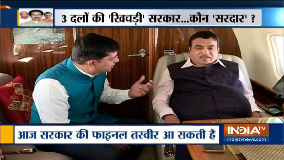 Nitin Gadkari statement on Shivsena-Congress-NCP Government in Maharashtra - India TV Hindi