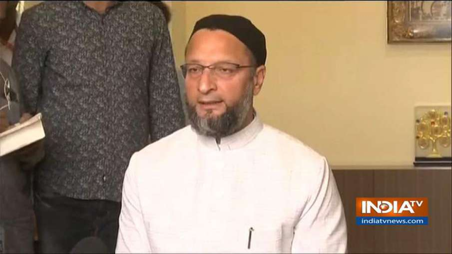 Asaduddin Owaisi Reaction on Ayodhya Verdict- India TV Hindi