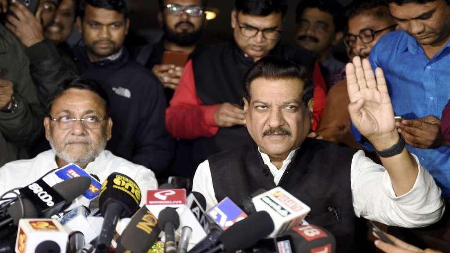 Nationalist Congress Party, NCP, Nawab Malik, Congress, Prithviraj Chavan, Maharashtra government- India TV Hindi