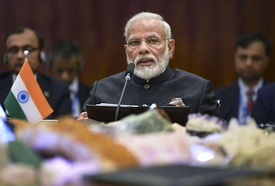 Prime Minister Narendra Modi addressing Plenary session...- India TV Hindi