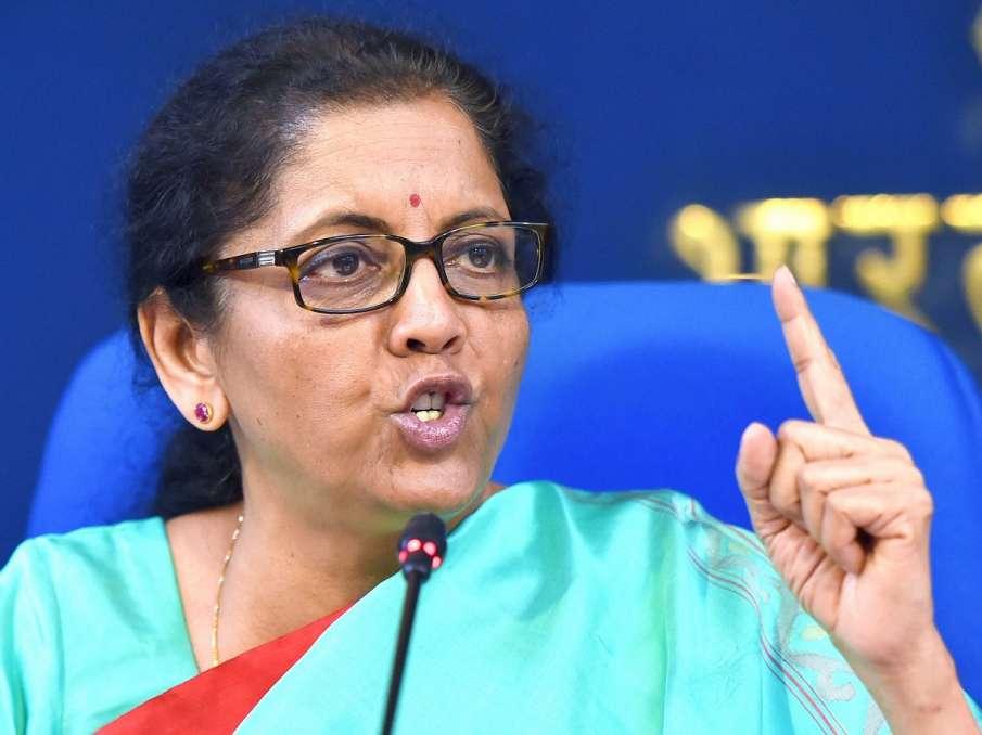 Union Finance Minister Nirmala Sitharaman- India TV Hindi