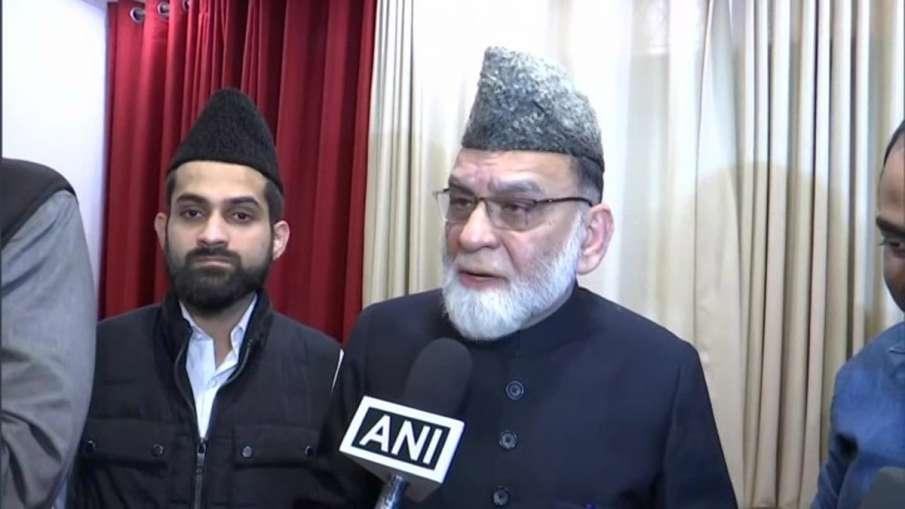 जामा मस्जिद के शाही इमाम सैयद अहमद बुखारी - India TV Hindi