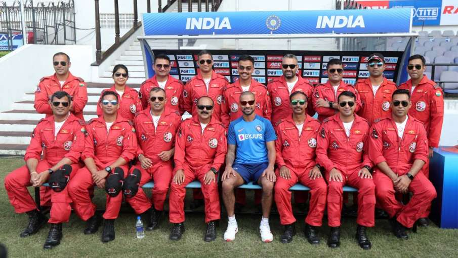 IND vs BAN : These players, including Shikhar Dhawan, spend time with Indian Airforce before Nagpur - India TV Hindi