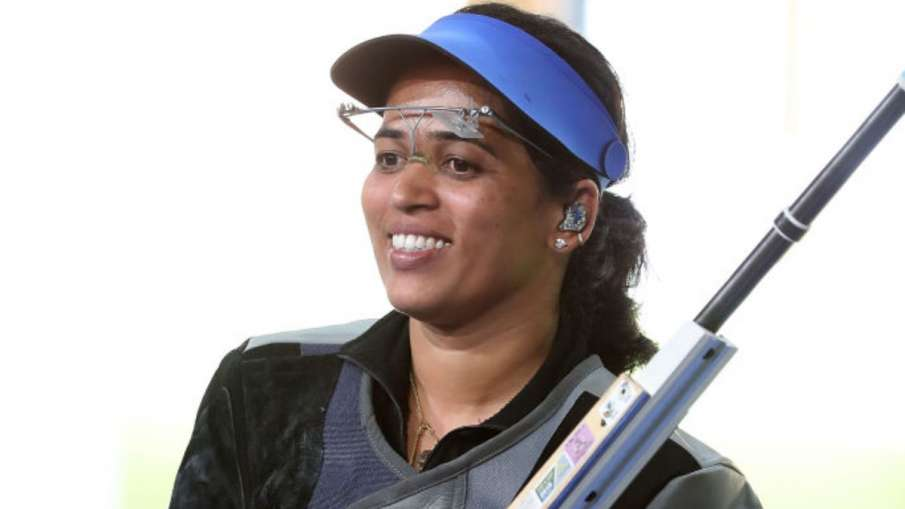 Shooting: Tejaswini gives India 12th Olympic quota- India TV Hindi