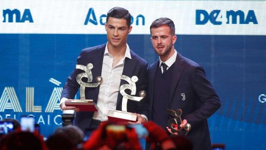 Cristiano Ronaldo wins 'Serie-A' Player of the Year Award- India TV Hindi