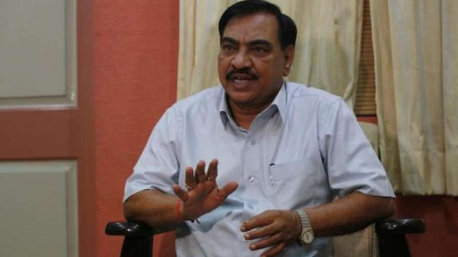 Senior BJP leader Eknath Khadse- India TV Hindi