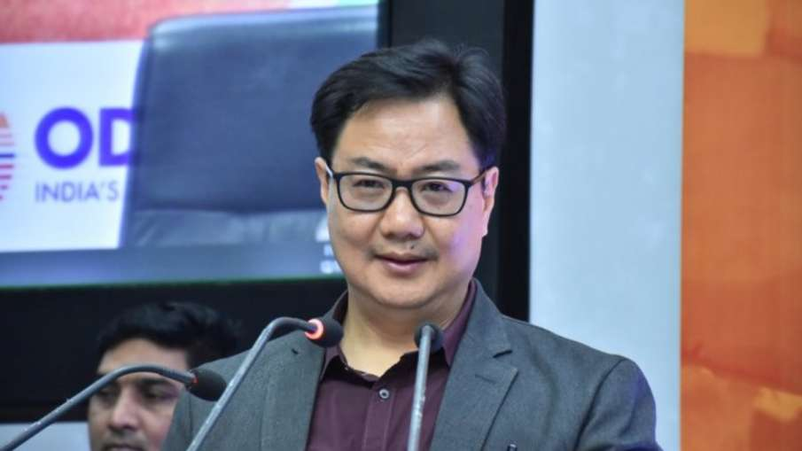 We can win more medals in Olympics by working hard on this sport - Kiren Rijiju - India TV Hindi