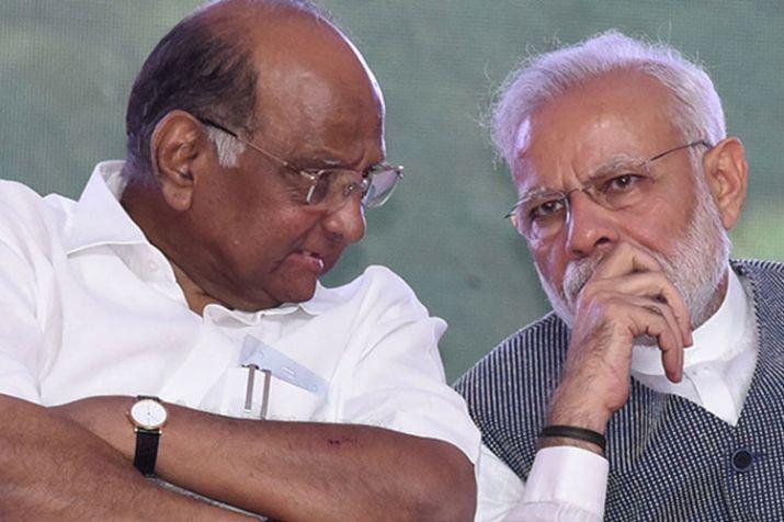 Sharad Pawar and PM Modi- India TV Hindi