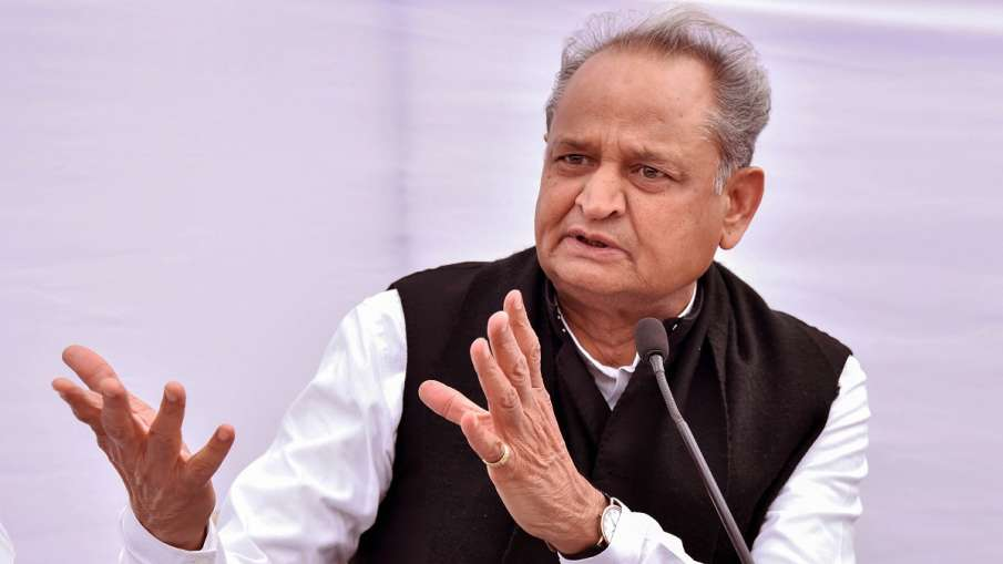 Rajasthan Chief Minister Ashok Gehlot- India TV Hindi