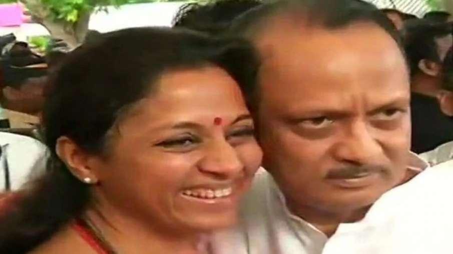 Supriya Sule Statement on Ajit Pawar- India TV Hindi