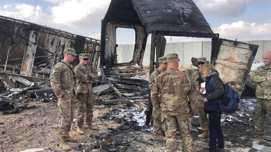 पिछले सप्ताह इराकी ठिकाने पर हुए ईरान के हमले में 11 अमेरिकी सैनिक घायल- India TV Hindi