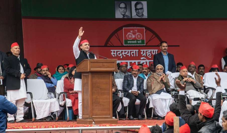 BJP is doing politics of divide and rule: Akhilesh...- India TV Hindi