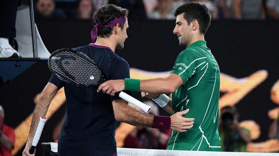 Roger Federer, Novak Djokovic, Australian Open final, Australian Open- India TV Hindi