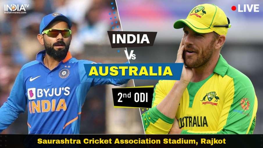IND vs AUS Live Cricket Streaming, India vs Australia Live Match, India vs Australia Live Match Hots- India TV Hindi