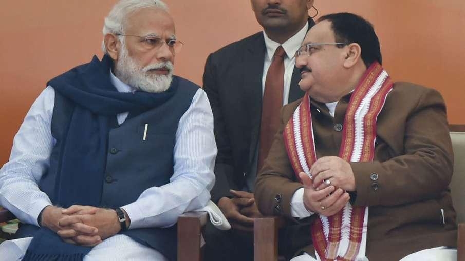 PM Modi and JP Nadda- India TV Hindi