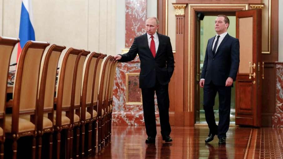 Russian President Vladimir Putin (Right) and Russian...- India TV Hindi
