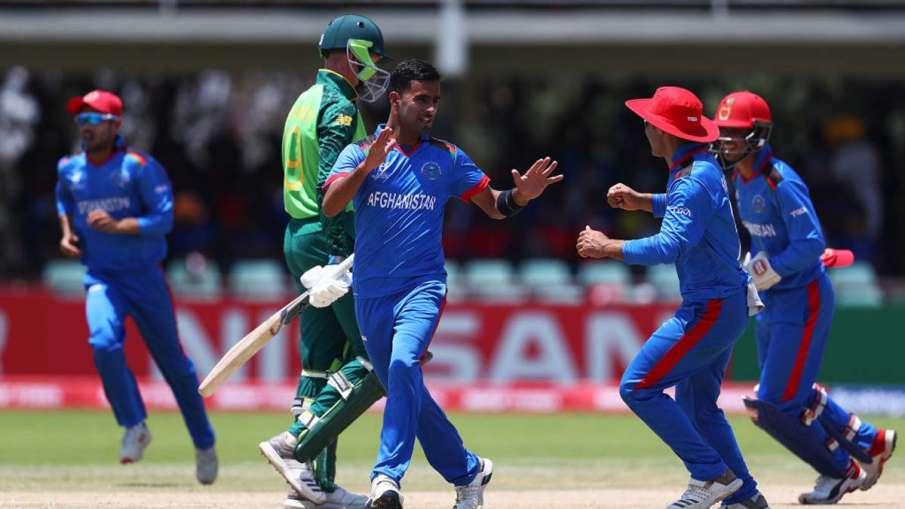 South Africa u19 vs Afghanistan U19, Under 19 World Cup, SA vs AFG, South Africa vs Afghanistan, Und- India TV Hindi