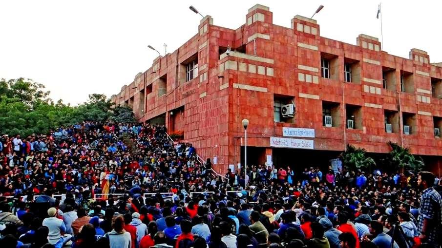 JNU NCC cadet students to parade on Republic...- India TV Hindi