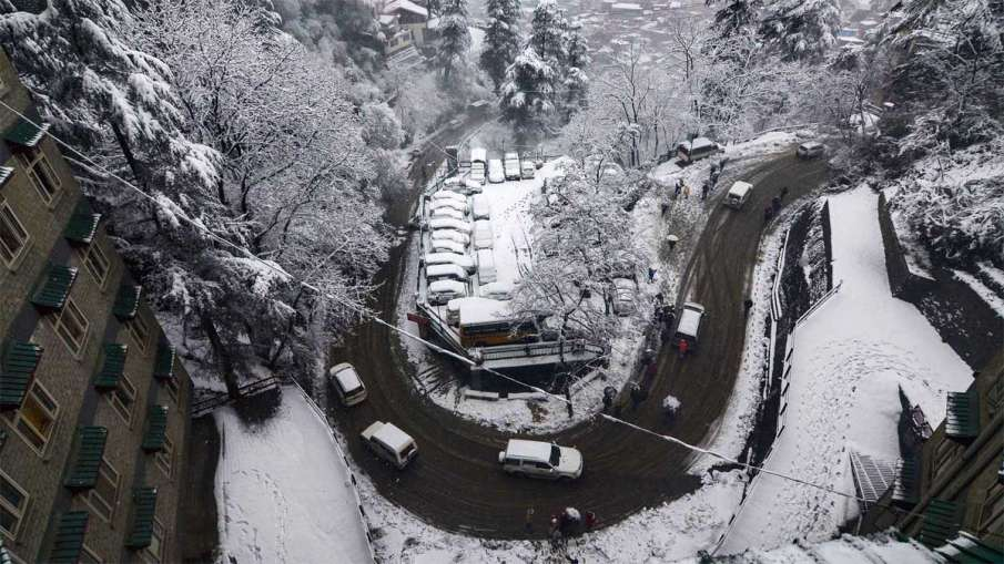 Himachal records minimum temperature, Shimla Weather, Shimla Snowfall, Manali Weather- India TV Hindi