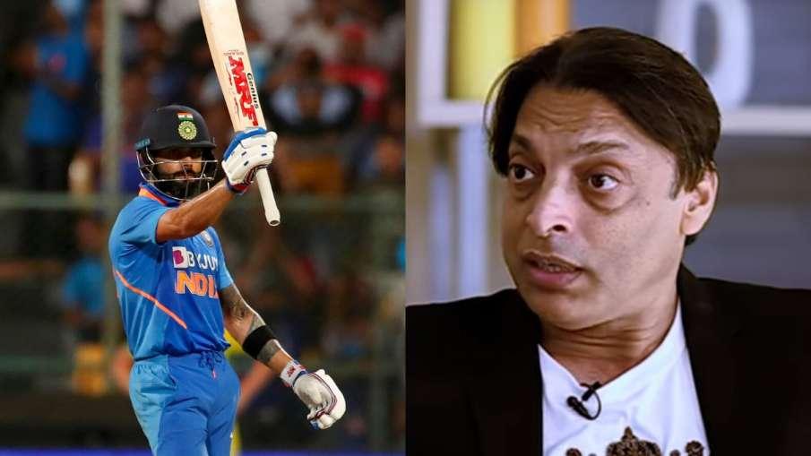 Virat Kohli and Shoaib Akhtar- India TV Hindi