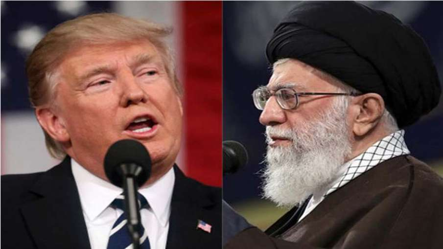 Donald Trump and Ayatollah Ali Khamenei - India TV Hindi