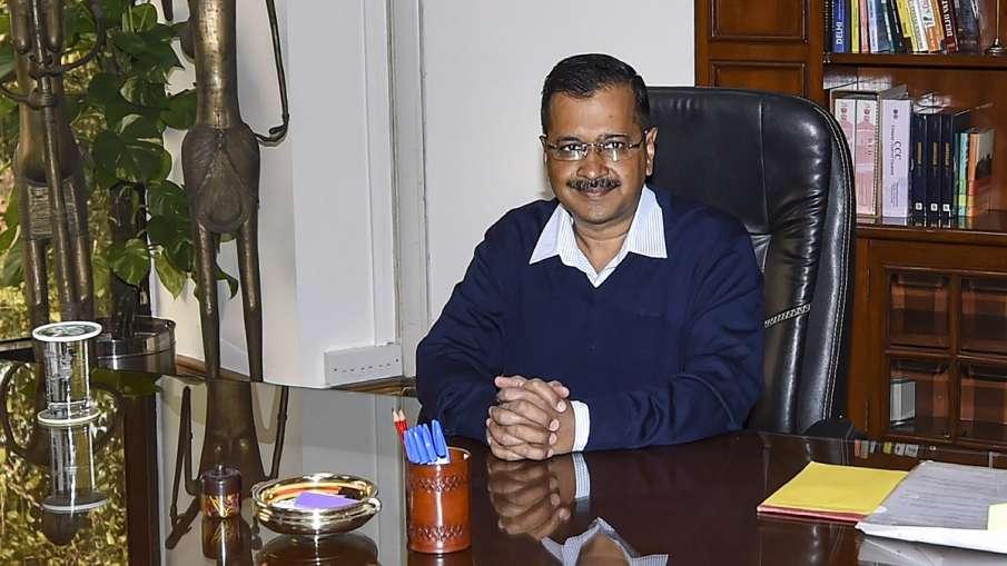 दिल्ली के मुख्यमंत्री अरविंद केजरीवाल- India TV Hindi
