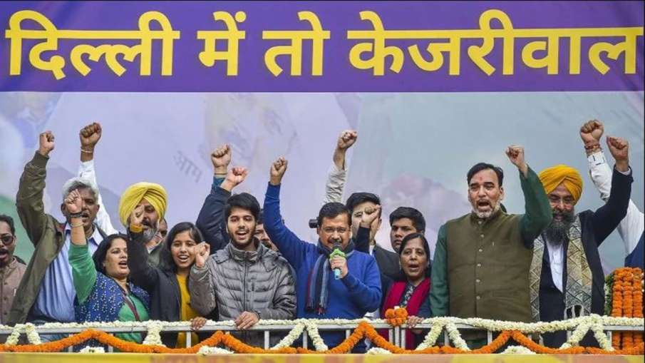 Multi-level security arrangement for Arvind Kejriwal's swearing-in ceremony - India TV Hindi