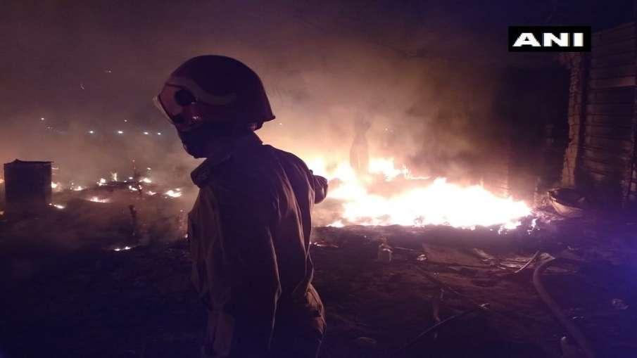 Fire in Rohini- India TV Hindi