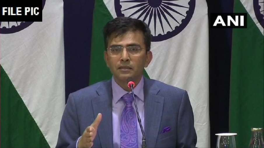 MEA Spoke Person Ravish Kumar- India TV Hindi