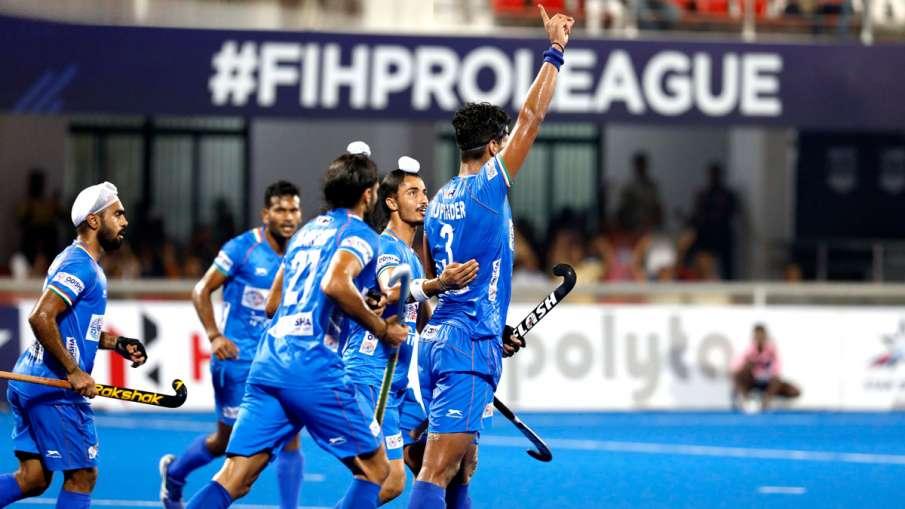 Rupinder Pal Singh,pr sreejesh,kalinga stadium,Hockey Pro League,Harmanpreet Singh,FIH Hockey Pro Le- India TV Hindi