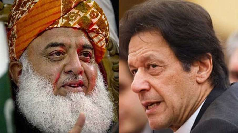 Maulana Fazlur Rehman Treason, Imran Khan, Maulana Imran, Maulana Fazlur Rehman- India TV Hindi