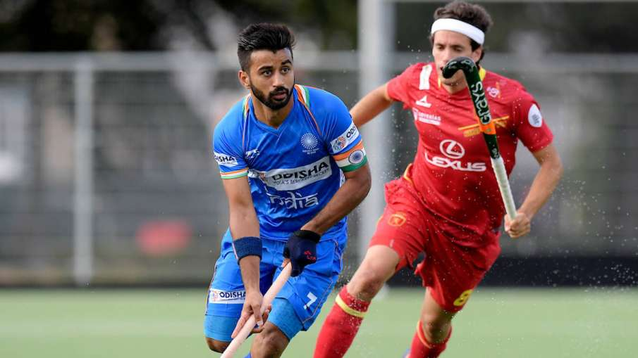 कप्तान मनप्रीत सिंह...- India TV Hindi