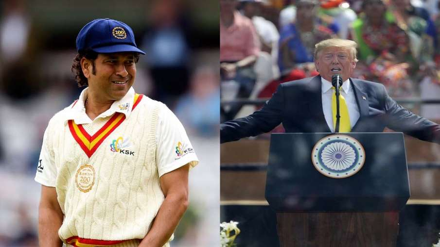 ICC trolls Donald Trump for calling Sachin Tendulkar's name wrong- India TV Hindi
