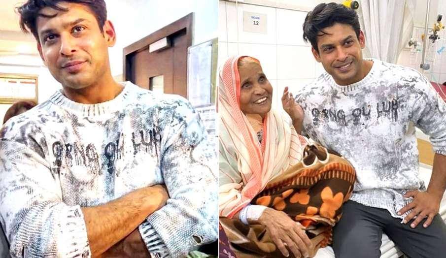 sidharth shukla with mother- India TV Hindi