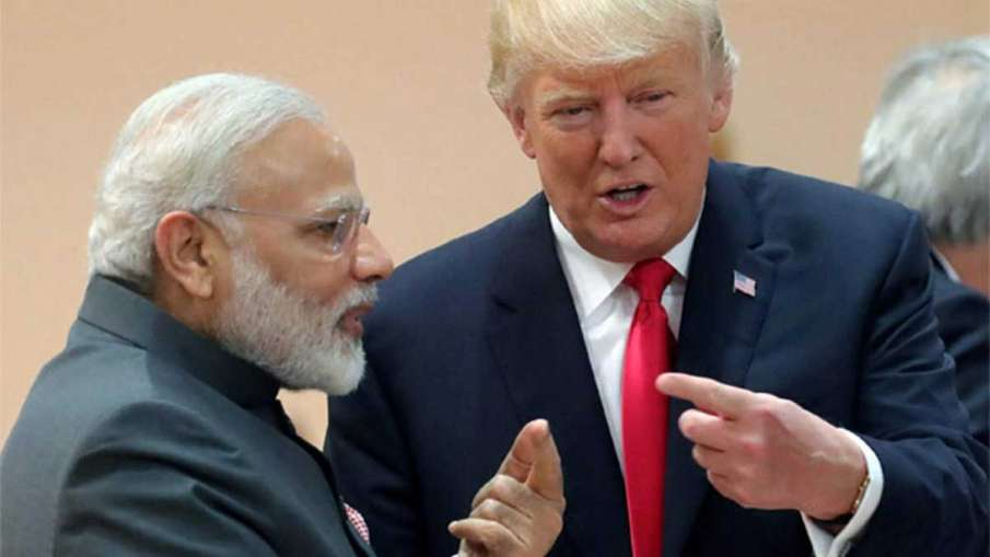 Modi and Trump- India TV Hindi