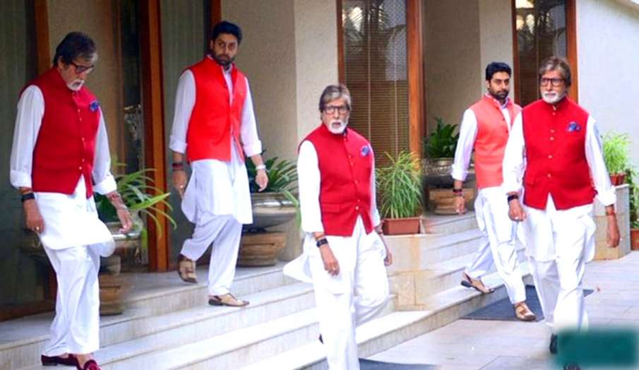 amitabh bachchan abhishek bachchan- India TV Hindi