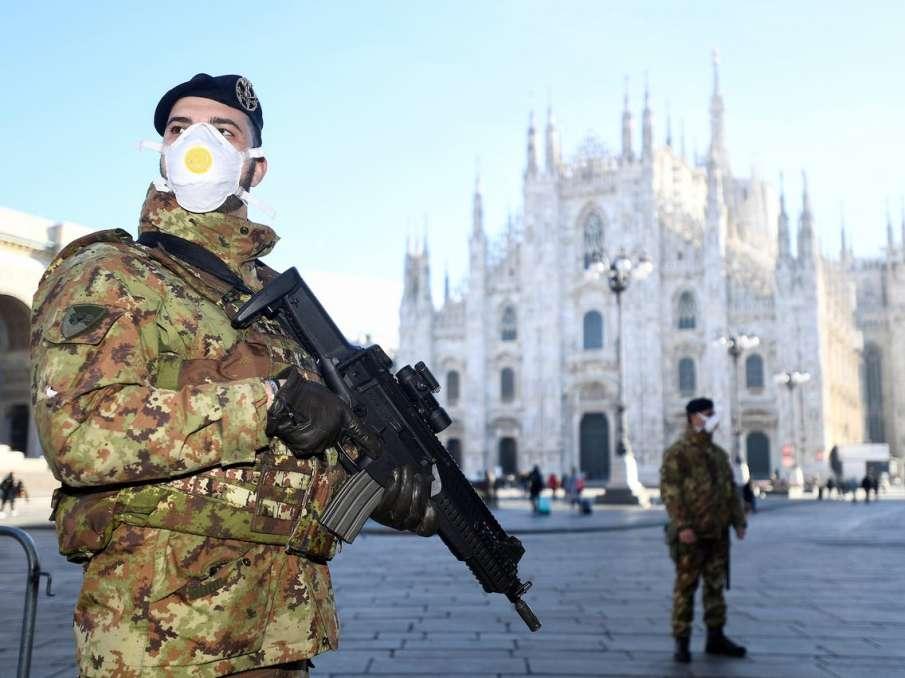 कोरोना वायरस के कारण इटली में मचा हाहाकार, लाशों को दफनाने के लिए सेना ने संभाला मोर्चा- India TV Hindi