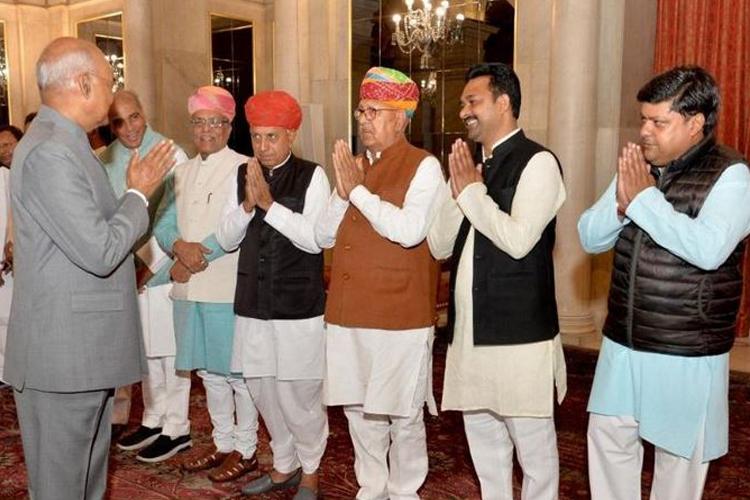 Dushyant Singh met President, Hema Malini, Mary Kom and...- India TV Hindi