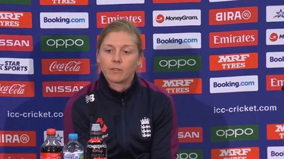 Heather Knight, Harmanpreet kaur,  World Cup 2020, T20 World Cup, India vs England, IND vs ENG, Semi- India TV Hindi