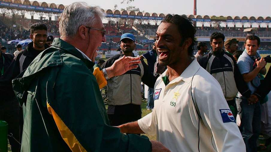 Shoaib Akhtar said these words during his last meeting with Bob Woolmer, now revealed - India TV Hindi
