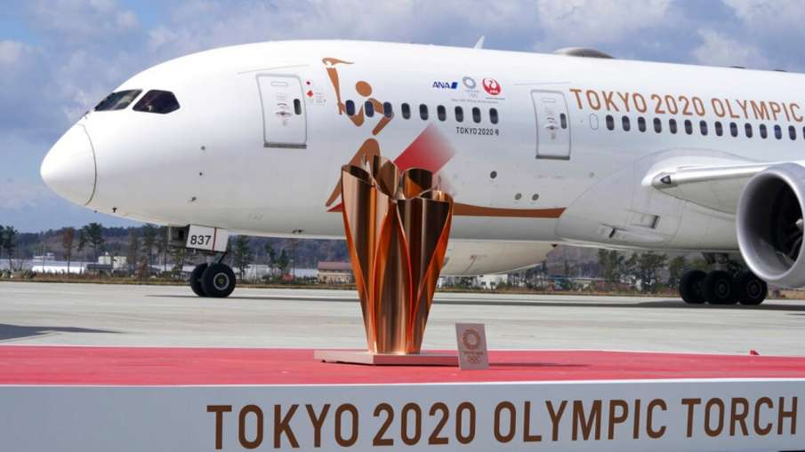 Olympic flame reaches Japan amid Corona outbreak, will it be held on schedule?- India TV Hindi