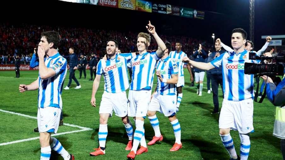 Football,Review,Real Sociedad,English,Copa del Rey,Mirandés,Mikel Oyarzabal,Oyarzabal,Copa Del Rey s- India TV Hindi