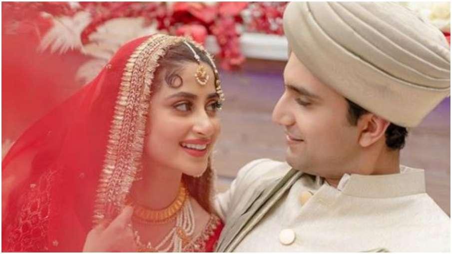 sajal ali wedding pictures- India TV Hindi