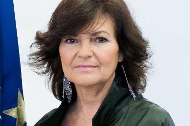 Spain's Deputy Prime Minister Carmen Calvo has...- India TV Hindi